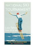 Ski Jumper, National Tournament Art