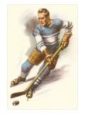 Ice Hockey Player Kunstdrucke