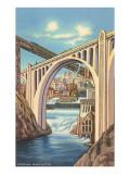 Monroe Street Bridge, Spokane, Washington Lámina