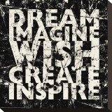 Marble Dream Imagine Stampa su tela di Carole Stevens