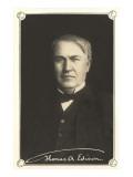 Photograph of Thomas Edison Pósters