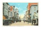 King Street, Charleston, South Carolina Kunstdruck