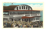 Shore Dinners, Rocky Point, Rhode Island Poster