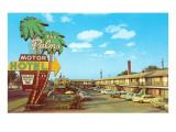 Das Palms Motor Hotel– klassisches Hotel Poster
