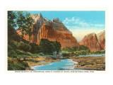 Mount Majestic, Zion-Nationalpark, Utah Kunstdrucke