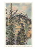 Mount Teewinot, Grand Teton-Nationalpark, Wyoming Poster