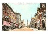 Main Street, La Crosse, Wisconsin Poster