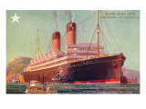 S.S.Laurentic, Ocean Liner Art
