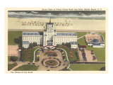 Ocean Forest-Hotel, Myrtle Beach, South Carolina Kunstdruck