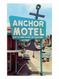 Anchor Vintage Motel Posters