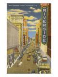 West Wisconsin Avenue, Milwaukee, Wisconsin Poster