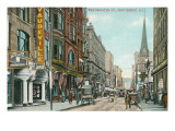 Downtown Providence, Rhode Island Poster
