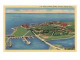 Naval Training Station, Newport, Rhode Island Premium gicléedruk