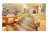 Interior, Retro Diner Pôsters