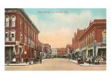 Pearl Street, La Cross, Wisconsin Kunstdrucke