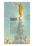 Mormon Statue, Angel Moroni Posters