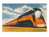 """Southern Pacific Stromlinienzug """"Sunbeam"""" Kunstdrucke"""