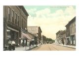 Main Street, Marinette, Wisconsin Kunstdrucke