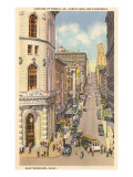Powell Street, San Francisco, Kalifornien Poster