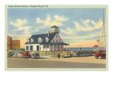 Coast Guard Station, Virginia Beach, Virginia Premium gicléedruk