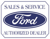 Ford Logo Placa de lata