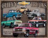 Chevy Truck Tribute Plaque en métal