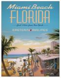 Erickson - Miami Beach Blechschild