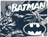 Batman - Duotone Plaque en métal