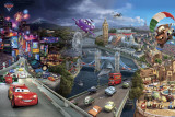 Cars, Pixar, le tour du monde Affiches