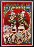 Circo Pinder Pósters por Louis Galice