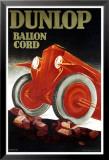 Dunlop-Reifen Poster