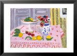 The Pink Tablecloth, c.1925 Print van Henri Matisse