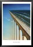 On the Edge Lamina Framed Art PrintSamy Charnine