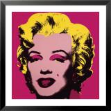 Marilyn, ca. 1967, kraftig pink Plakater af Andy Warhol