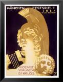 Munich Music Festival, c.1937 Posters tekijänä Ludwig Hohlwein