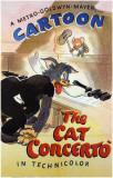 The Cat Concerto Masterprint