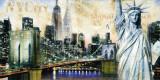 New York City Julisteet tekijänä John Clarke
