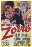 The Mark of Zorro Masterprint