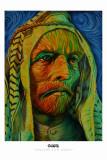 Muslim Van Gogh Masterprint by English Ron