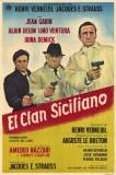 Clan des Siciliens, Le|The Sicilian Clan Affiche originale