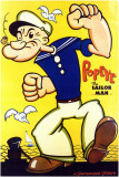 Popeye the Sailor Man Stampa master