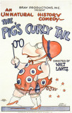 Pig's Curly Tail Masterprint