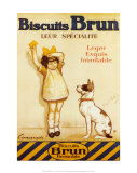 Biscuits Brun Posters by George Redon