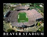 Beaver Stadium– Pennsylvania Kunstdrucke von Mike Smith