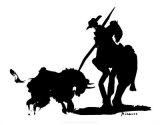 Bullfight IV Print van Pablo Picasso