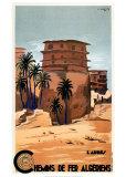 Chemins de Fer Algeriens Art by L. Koenig