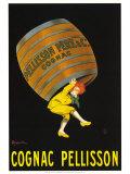 Cognac Pellison Poster par Leonetto Cappiello