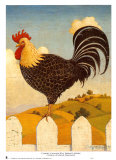 Country Crowers II Posters por Robert LaDuke