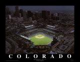 Coors Field - Denver, Colorado Affiche par Mike Smith