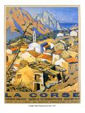 Corse Posters tekijänä Malcolm A. Strauss